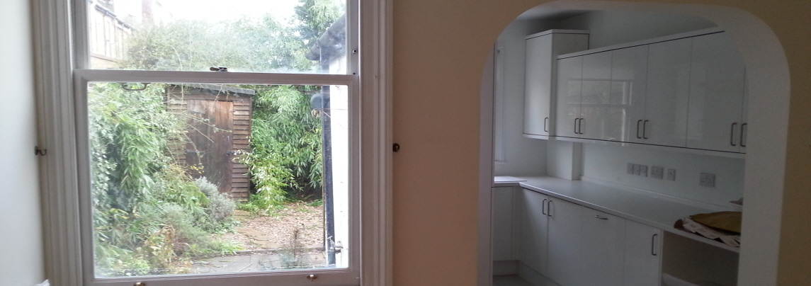 View into Garden - short lets ealing - ealing holiday lets: furnished rentals. close to Central London